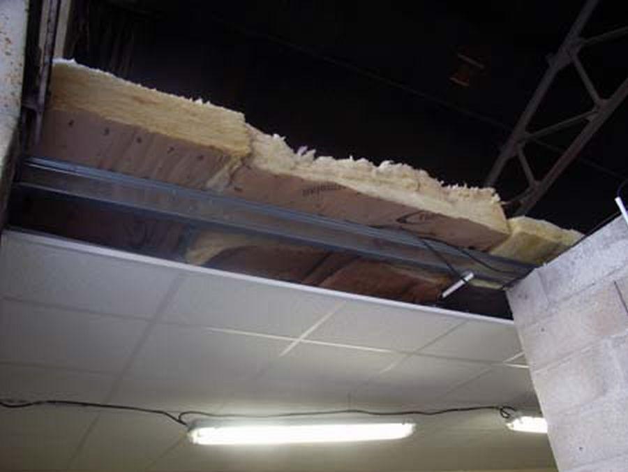 """""""схема утепления потолка"""